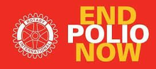 The Rotary End Polio Now logo